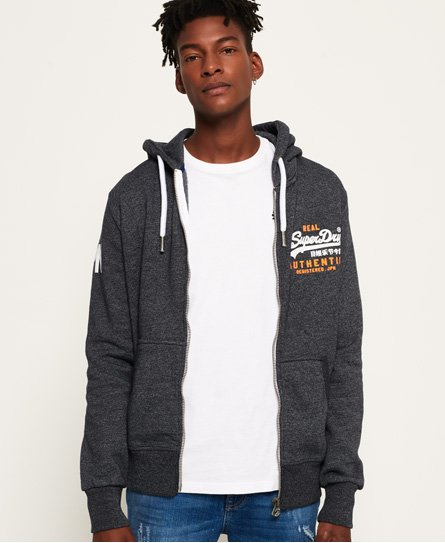Superdry Vintage Authentic Duo Zip Hoodie