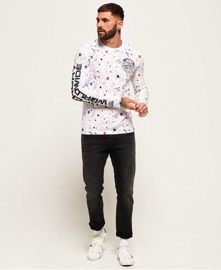 Superdry Worldwide Ticket Type Long Sleeve T-Shirt