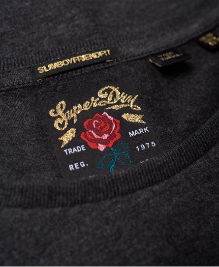 Superdry T-shirt Band Boyfriend