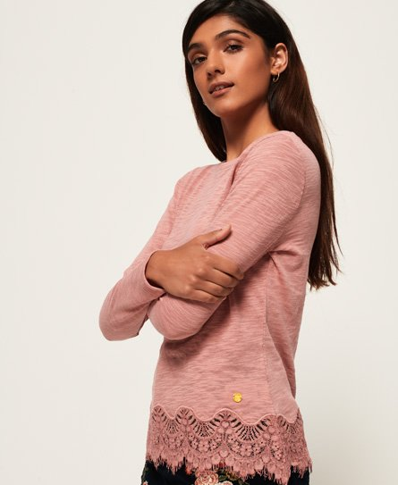 Superdry Alma Lace Top