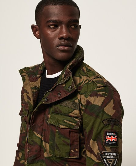 Superdry Veste militaire Hero Rookie Vestes pour Homme