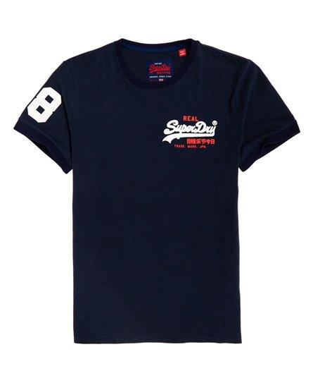 Vintage Logo Ringer -t-paita