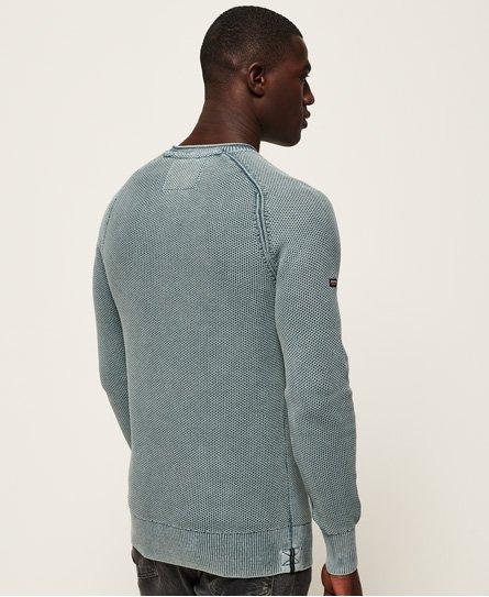 Superdry Garment Dye L.A.Textured Crew Jumper
