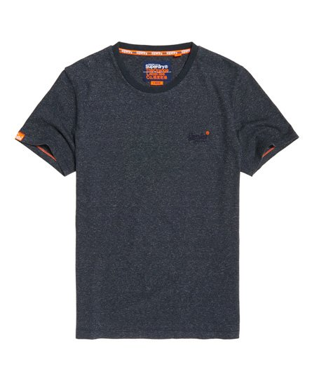Orange Label Vintage Brodert T-skjorte