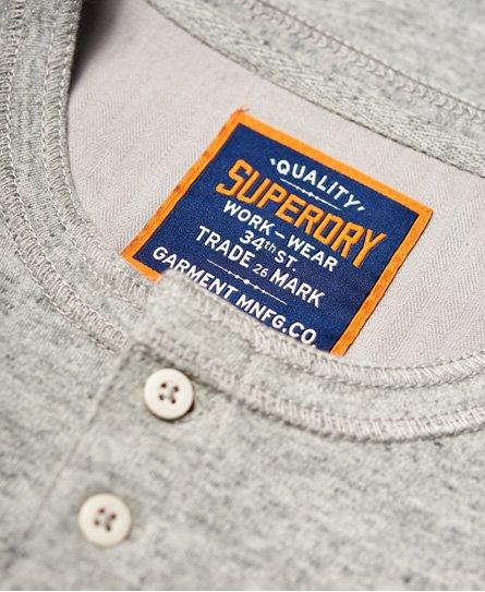 Superdry Heritage Grandad Short Sleeve Top