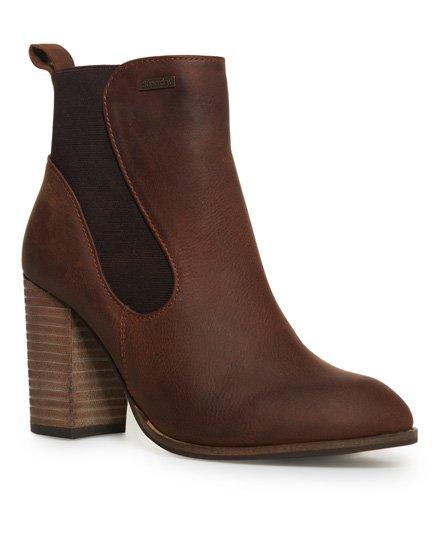 Fleur Heel Chelsea 短靴