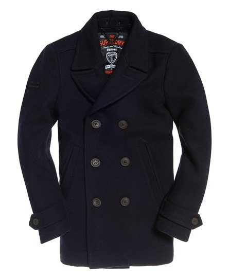 Superdry Merchant Pea Coat