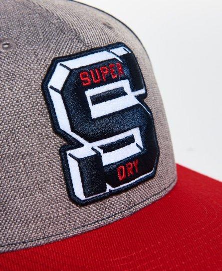 d7c376389a5f Mens - Super Harlem Baseball Cap in Multi Tricolour Navy | Superdry