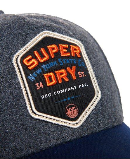 Superdry Merchant Felt Trucker Cap