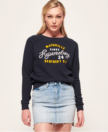 Superdry Sweat ras du cou slim Aria