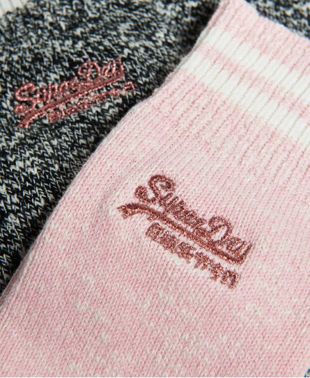 Superdry Sporty Marl Socks Double Pack