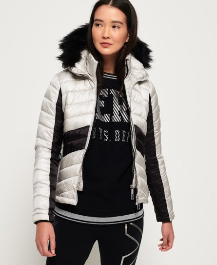Superdry Offshore Luxe Chevron Fuji jas