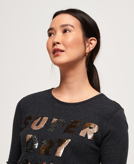 Superdry Aisha Sequin Top