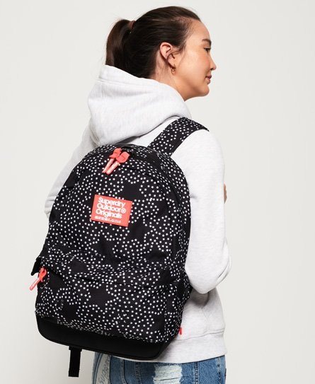41f69a7315b Womens - Print Edition Montana Rucksack in Mono Star | Superdry