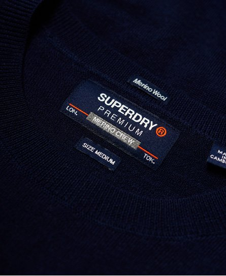 Superdry Merino Crew Jumper