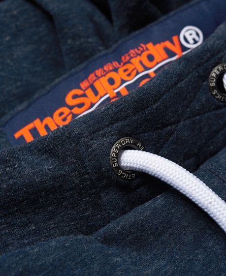 Superdry Orange Label cuffed joggers
