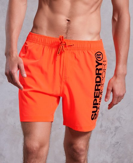 Superdry Sport Volley Badeshorts