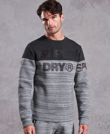 Superdry Sweat ras du cou Gym Tech Cut