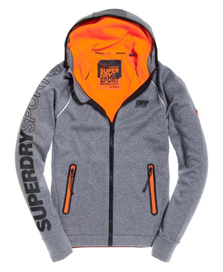 Superdry Sweat à capuche zippé Winter Training