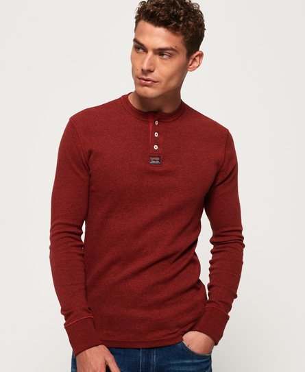 Heritage Grandad Long Sleeve Top