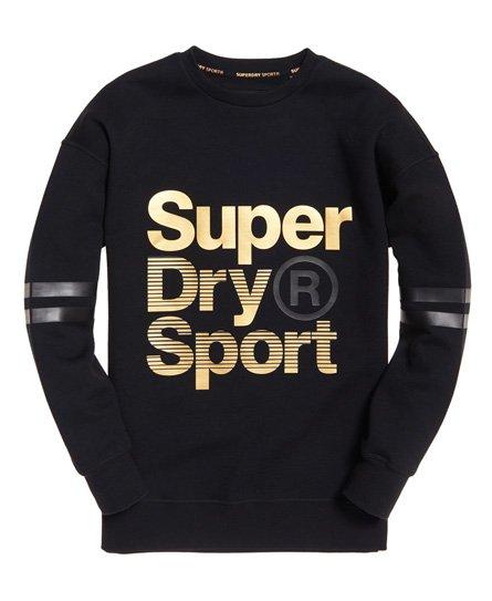 Superdry Gym Tech Gold Supercrew Jumper