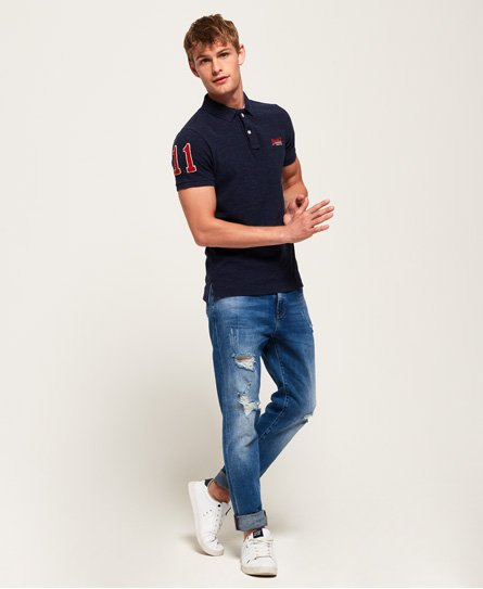 Superdry Polo in piqué Classic