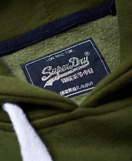 Superdry Vintage Logo Glitter Hoodie