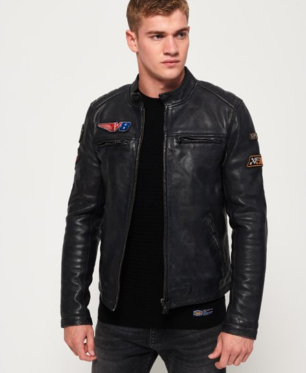 Endurance Road Trip Leather Jacket