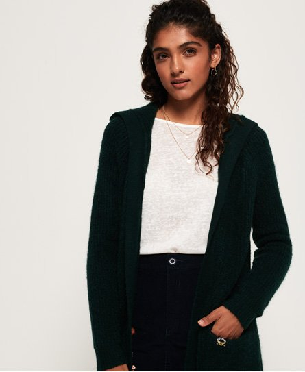 Superdry Cardigan long à capuche Taylor