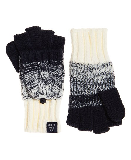 Superdry Clarrie Cable Mittens