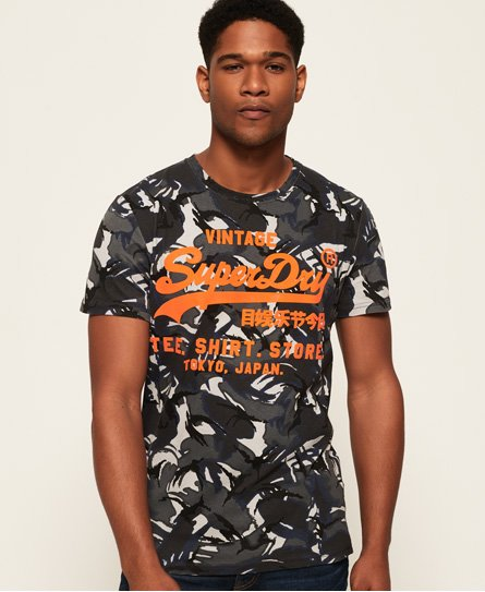 Superdry Shirt Shop Camo T-Shirt