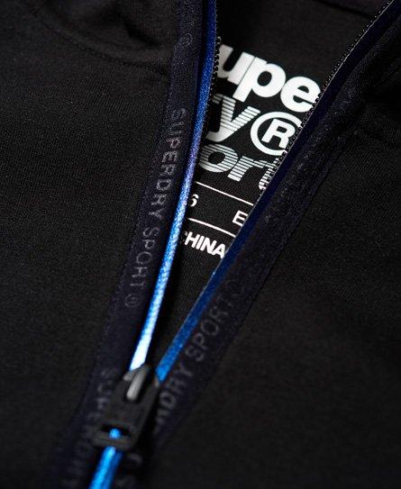 Superdry Core Gym Tech Panel Zip Hoodie