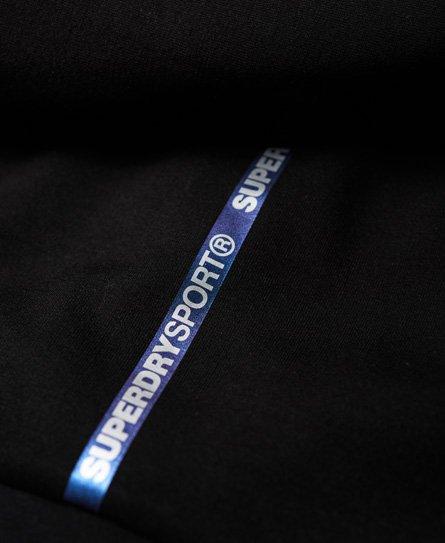 Superdry Core Gym Tech Panel-hettegenser med glidelås