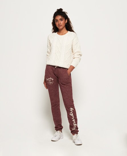 Superdry Rylee Embroidered joggingbroek