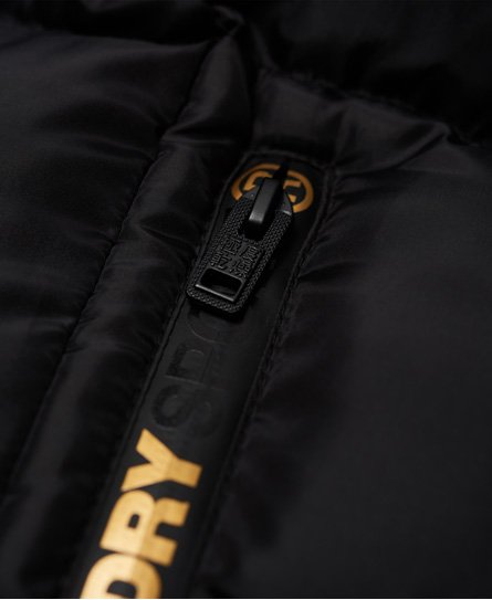 Superdry Gym Tech Gold Puffa jas