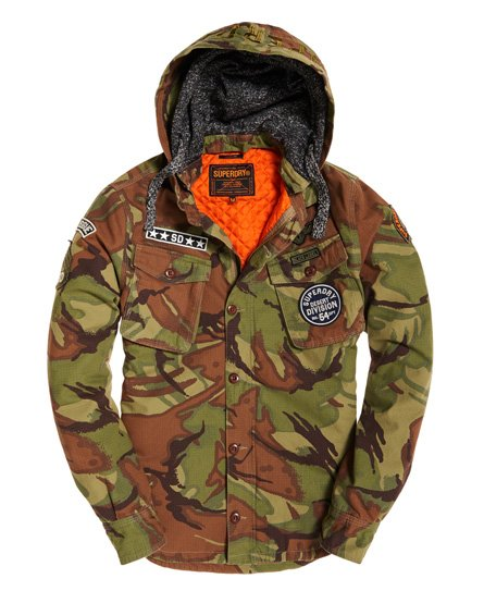 Superdry Military Storm Hooded Jacket