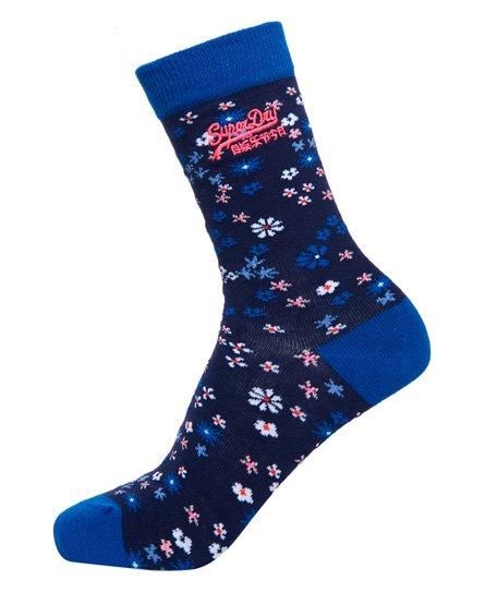 Superdry Lot de trois paires de chaussettes à petites fleurs Bella