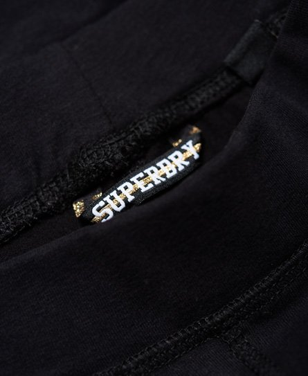 Superdry Leggings con logo in strass