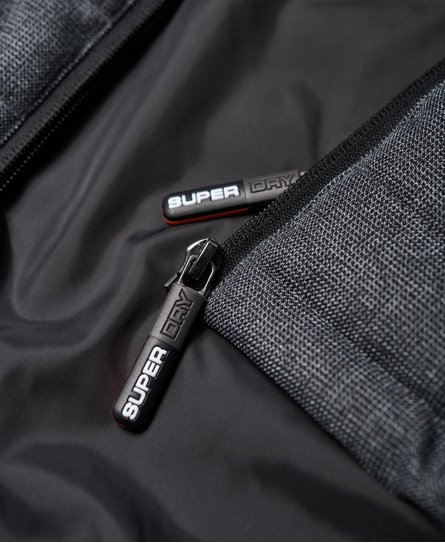 Superdry Double Zip Tweed Fuji -toppaliivi