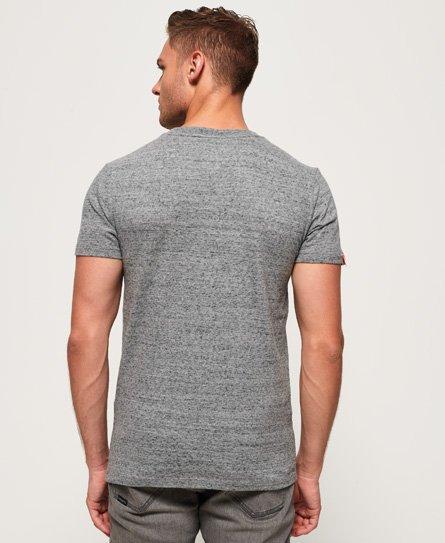 Superdry T-shirt à col V brodé Vintage Orange Label