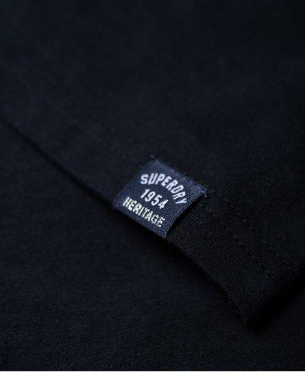 Superdry T-Shirt mit Applikation und Kordeldetail