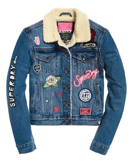 Superdry SD Girlfriend Sherpa Jacket