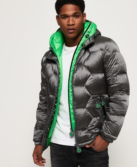Superdry Hex Tech Racer Down Puffer Jacket