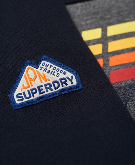 Superdry Triple Drop Pop Panel Sweatshirt