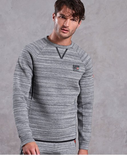 Superdry Gym Tech Stretch Crew Neck Sweatshirt