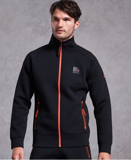 Superdry Gym Tech Stretch Track topp