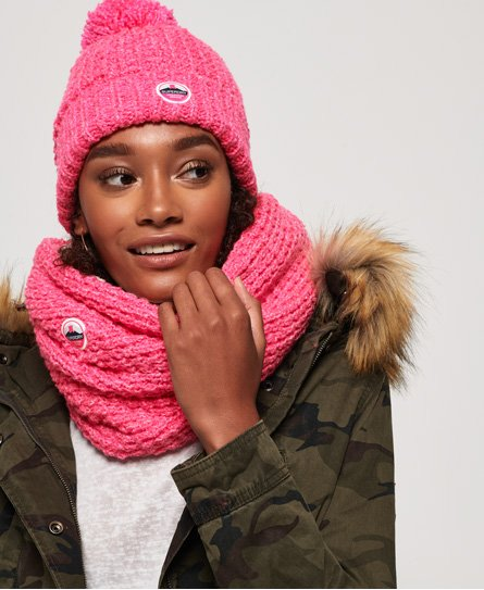 Superdry Snood en point de croix Clarrie