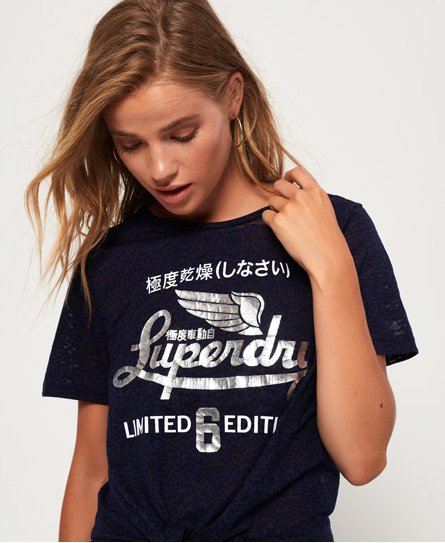 Superdry Icarus Burnout Knot T-Shirt