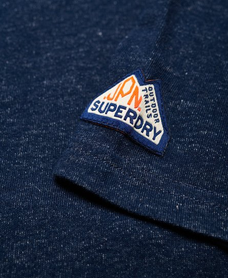 Superdry Triple Drop Pop Panel T-Shirt
