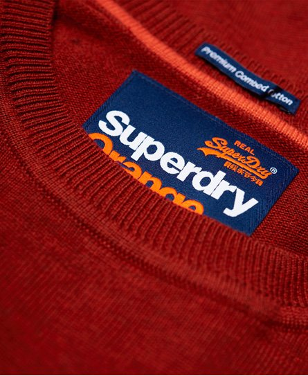 Superdry Pyöreäkauluksinen Orange Label -puuvillapusero